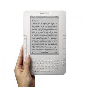 white kindle